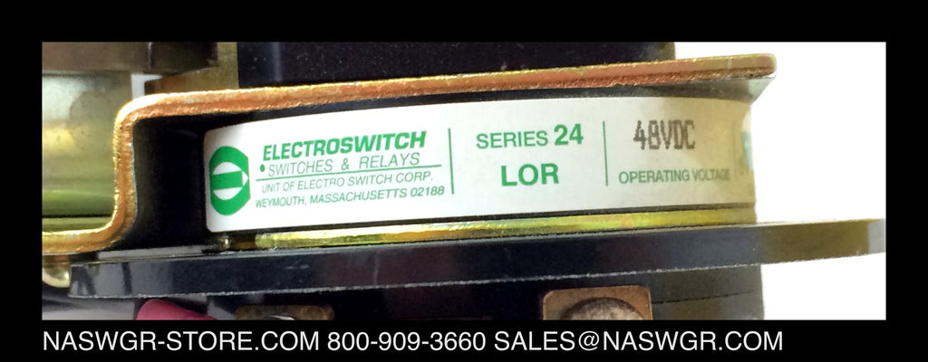 7803c Electroswitch 7803c 0028 Electric Lockout Relay