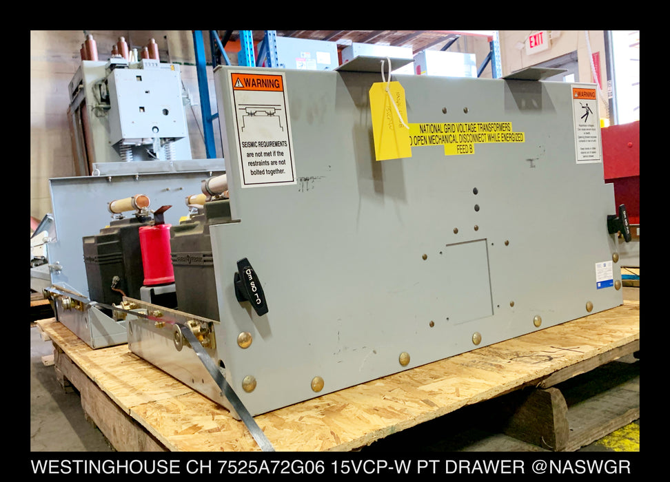 Westinghouse VCP-W PT / VT Drawer with GE JVM-5 7525A72G06