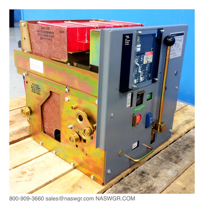 Westinghouse DS-420 Circuit Breaker, Manually Operated, Drawout, 2000A DS Circuit Breaker, Retrofitted with the solid state trip of your choice