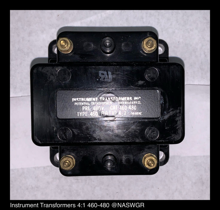 Instrument Transformer Inc. 460-480 Potential Transformer