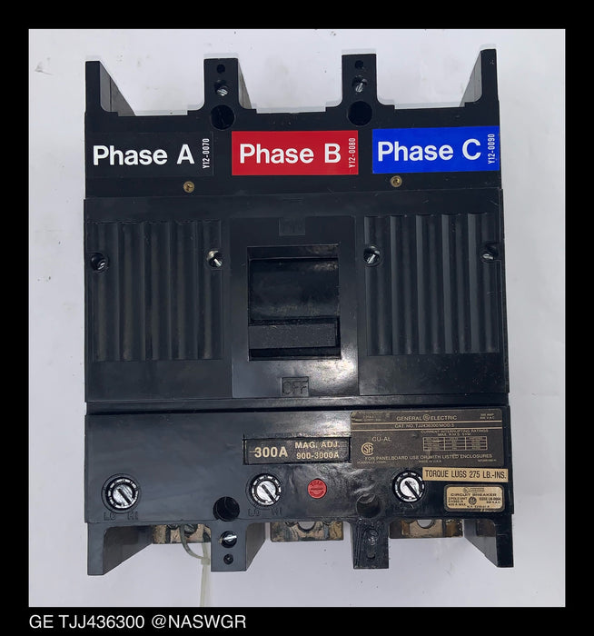 GE TJJ436300 Circuit Breaker Model 5