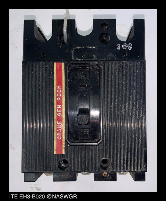 ITE EH3-B020 Molded Case Circuit Breaker