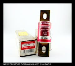 LDC450 ~ Littelfuse LDC450 Hi-Interrupting Current Limiting AC/DC Fuse