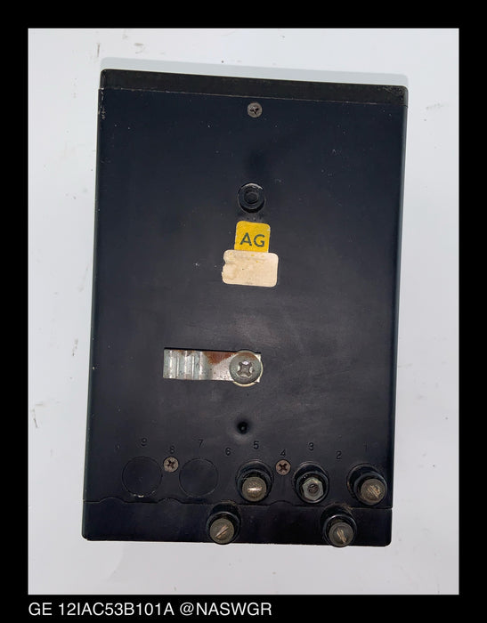 General Electric 12IAC53B101A Time Overcurrent Relay