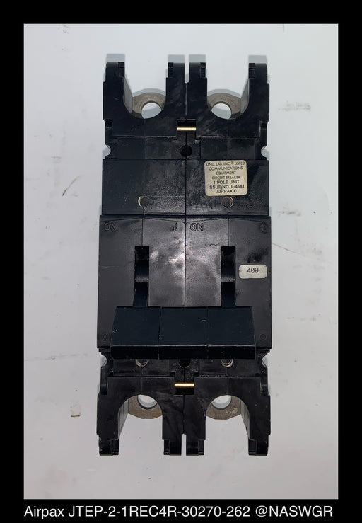 Airpax JTEP-2-1REC4R-30270-262 Molded Case Circuit Breaker