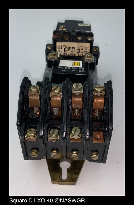 Square D LXO 40 Lighting Contactor