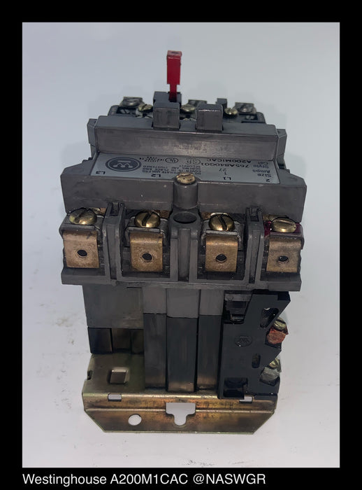 Westinghouse A200M1CAC Starter