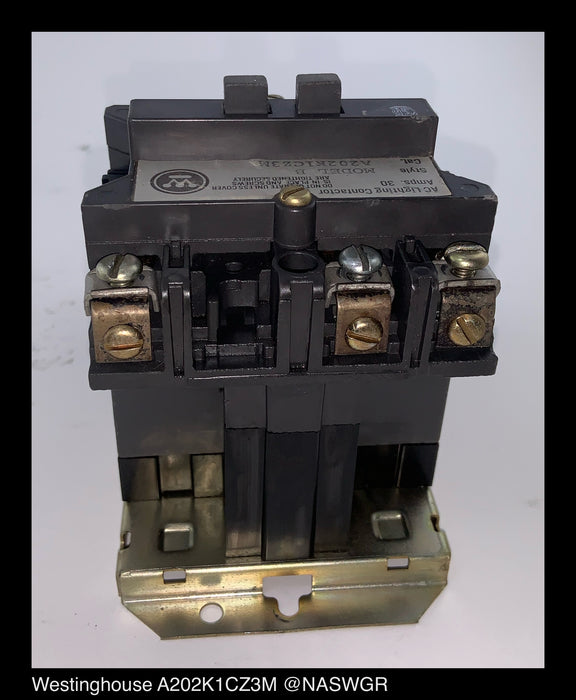 Westinghouse A202K1CZ3M AC Lighting Contactor