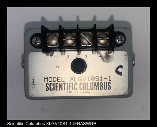 Scientific Columbus XLGV10S1-1 Volatge Transducer