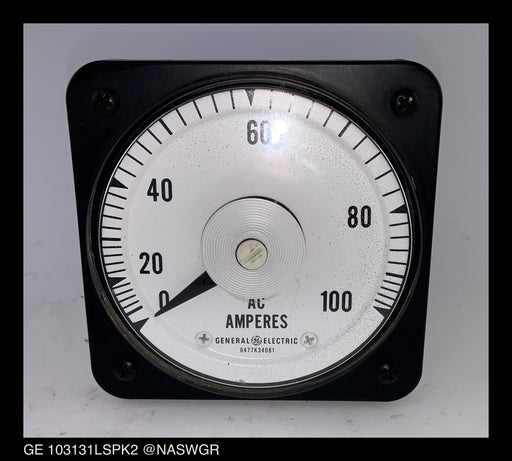 General Electric 103131LSPK2 AC Ammeter