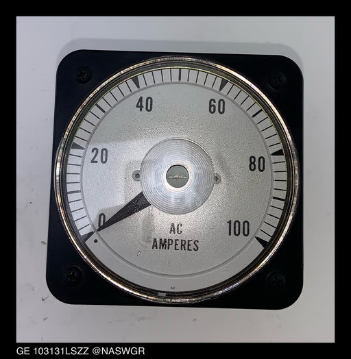 General Electric 103131LSZZ AC Ammeter