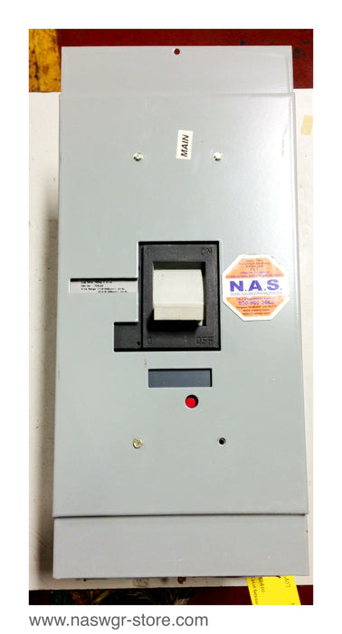 TJD432400 , GE TJD432400 Circuit Breaker , 400 Amp , 3 Pole , 240 VAC , With Spectra Series AMC3JK Mounting Module and Face Plate , Model 1 , 600 Amps Max. , 600V Max. , PN: TJD432400