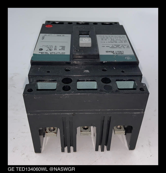 General Electric TED134060WL Molded Case Circuit Breaker