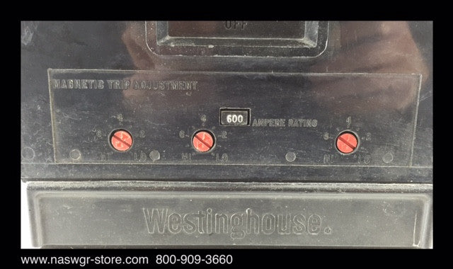 Westinghouse NB3800PF Circuit Breaker ~ 800 Amps