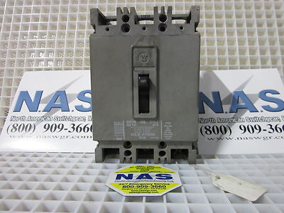 Westinghouse HFB3100 Molded Case Circuit Breaker