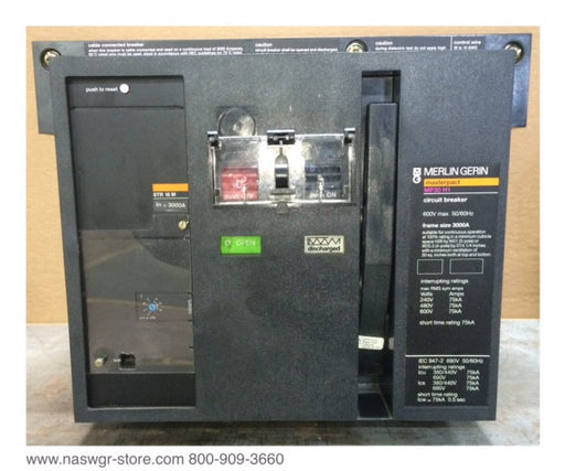 MP30H1 ~ Merlin Gerin MP30H1 Circuit Breaker ~ 3000 Amp