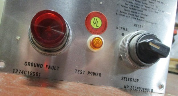 1274C19G01 / NP 235P03H01D - Westinghouse - Test Panel