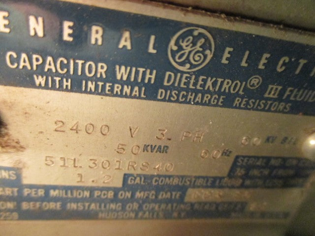 51L301RS40 - General Electric - Capacitor