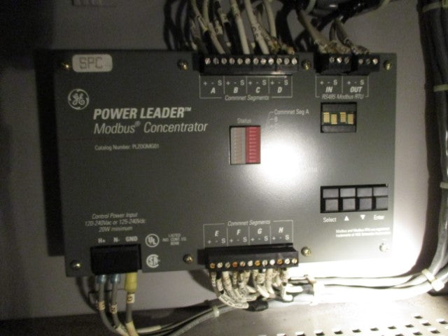 PLZOOMG01 - General Electric - Power Leader Modbus Concentrator