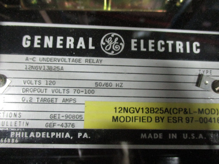 12NGV13B25A - General Electric Relay