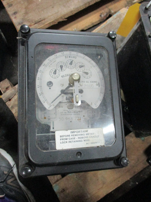 700X95G686 - General Electric - DSMW-63 Polyphase Watthour Meter