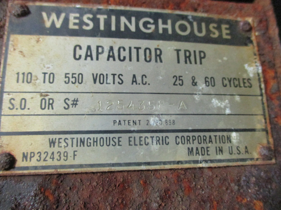 1254358-A Capacitor Trip