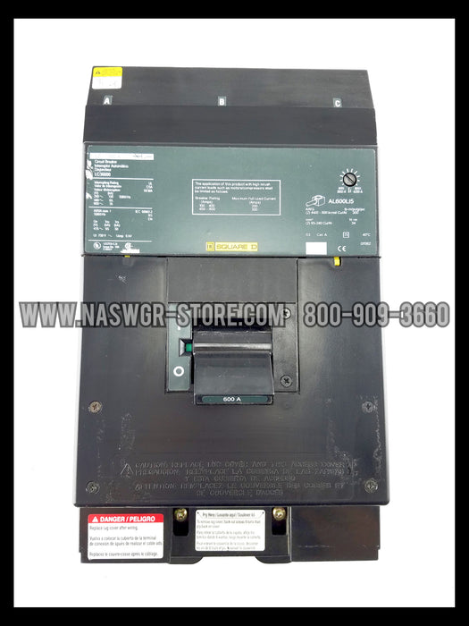 Square D LC36600 Circuit Breaker