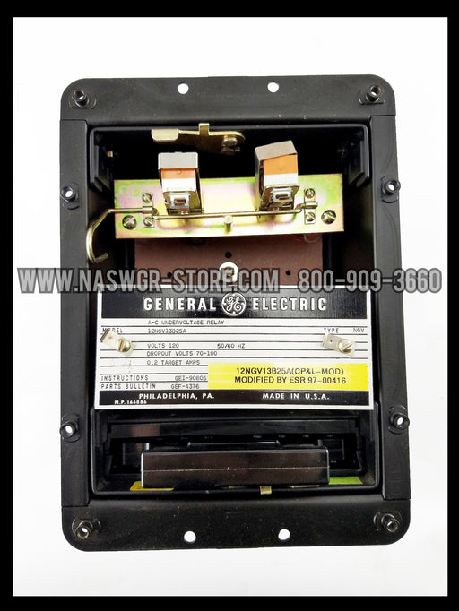 General Electric 12NGV13B25A Undervoltage Relay