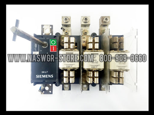 Siemens 3KL7151-4AA00 Disconnect Switch