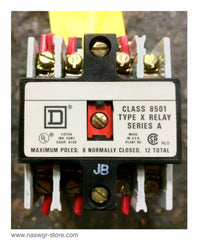 X040 ~ Square D X040 Control Relay ~ Form JB