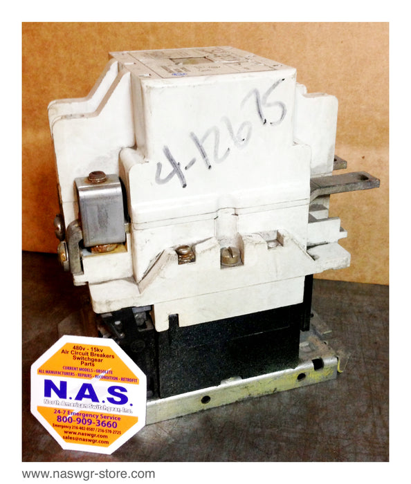 A200M4CAC ~ Westinghouse A200M4CAC Size 4 Contactor ~ 5250C84G02