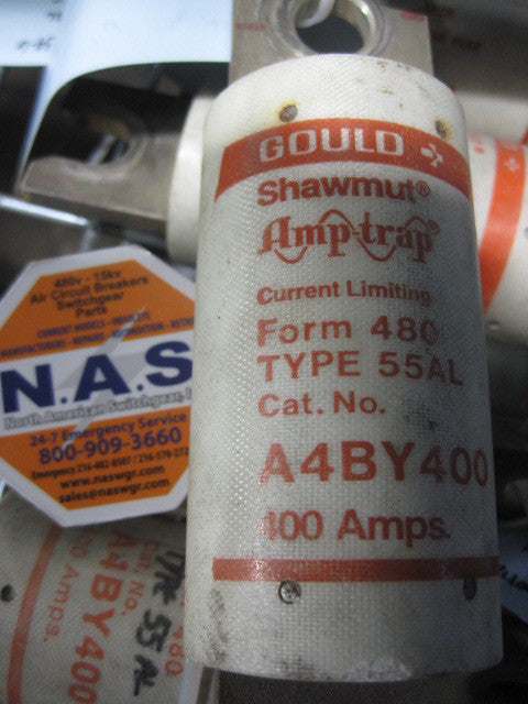 A4BY400 ~ Gould Shawmut A4BY400 Fuse Type 55AL