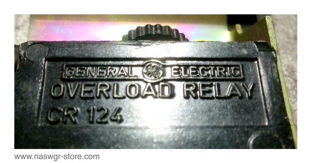 CR124 ~ GE CR124 Overload Relay