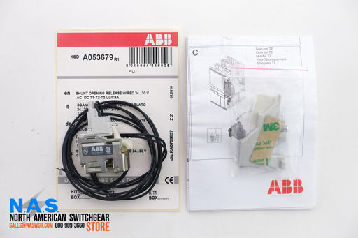 ABB 1SDA053679R1 Shunt Opening Release Wired