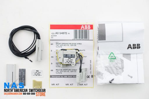 ABB 1SDA054872R1 Shunt Opening Release Wired