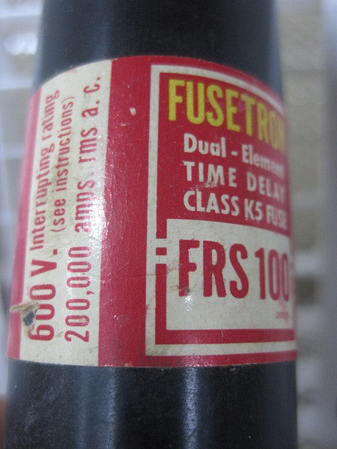 FRS100 , Bussman Fuse Type: FRS100