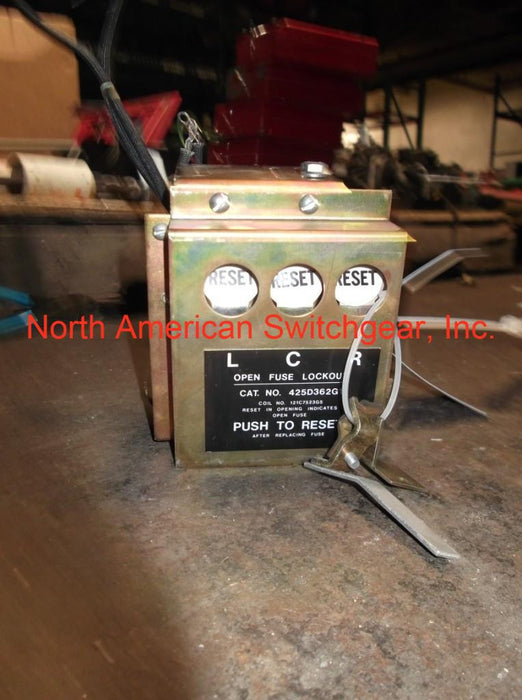GE Open Fuse Lockout PN: 415D362G1