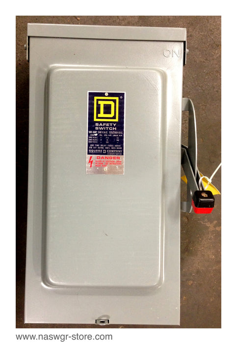 H223NRB ~ Square D H223NRB Saftey Switch ~ 100 Amp