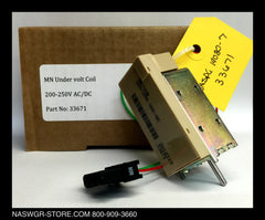 S33671 ~ Unused Surplus in Box Schneider Electric / Square D S33671 MN Undervoltage Release Coil 200-250VAC/DC