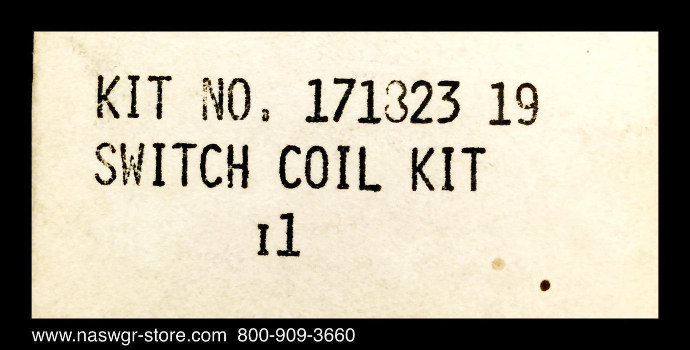 17182319 ~ Asco 17182319 Switch Coil Kit ~ Unused Surplus