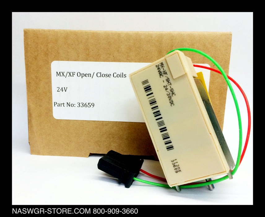 S33659 ~ Unused Surplus in Box Schneider Electric / Square D S33659 MX/FX Open Close Coil