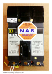 FC34060, Square D FC34060 Circuit Breaker , 60 Amp , Type: FC , Crown Style Stabs , 240V 480V , PN: FC34060