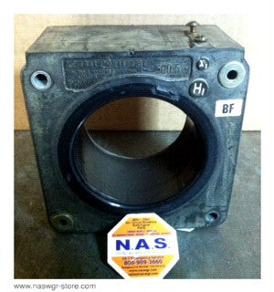 750X14G111 , GE Current Transformer , Type: JAS-0 , 500:5 , PN: 750X14G111