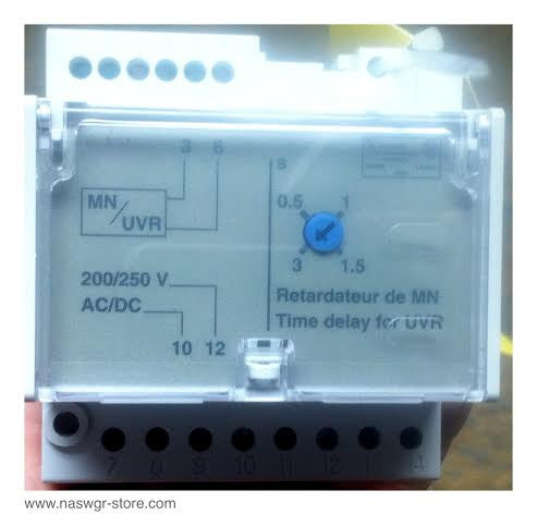 33682 ~ Schneider Electric 33682 Adjustable Delay Unit ~ 200/250 Vac