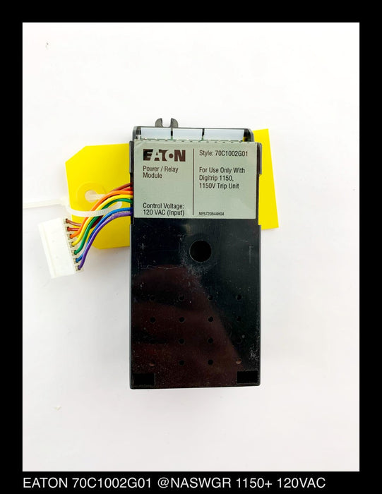 EATON Cutler-Hammer 70C1002G01 Power Relay Module 120VAC