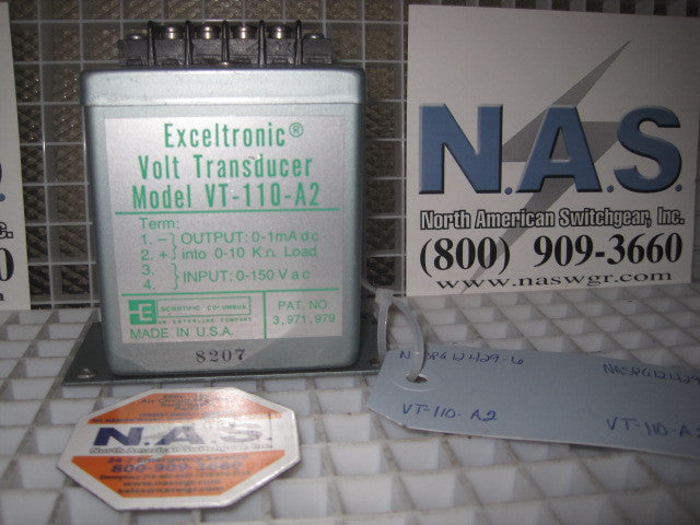 Scientific Columbus Volt Transducer PN: VT-110-A2