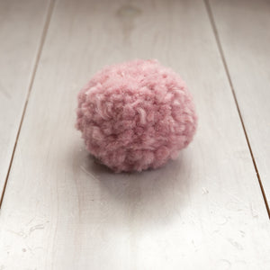 PINK Recycled Wool Pom