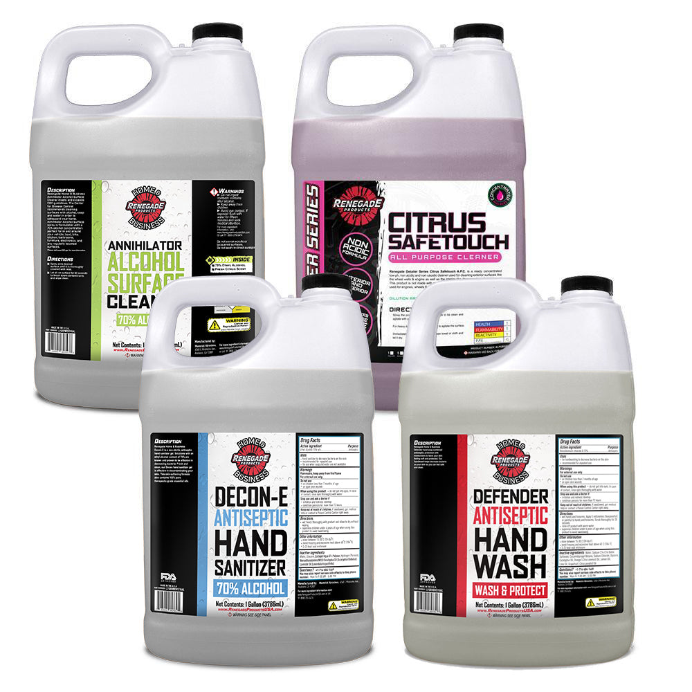 Bulk Gallon Clean and Protect Bundle