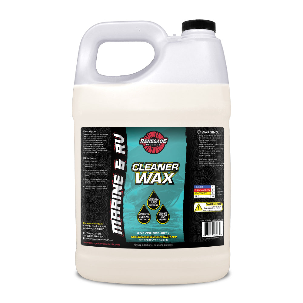 Marine & RV Cleaner Wax