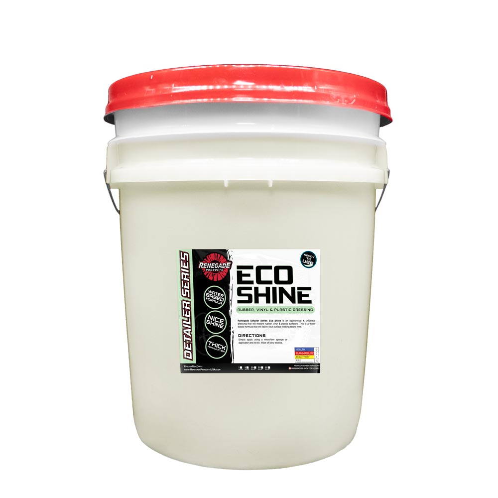 Eco Shine Rubber, Vinyl, & Plastic Dressing